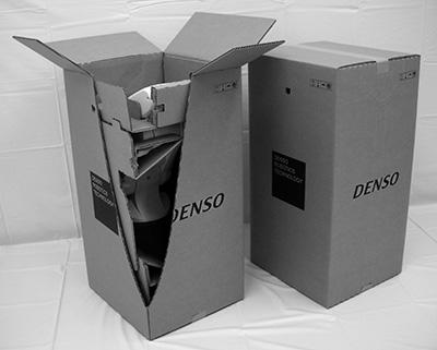 『小型精密ロボットのCS<sup>3</sup>(シー・エス・キュービック)包装』