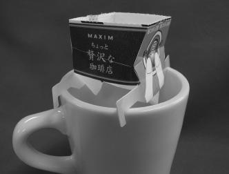 『味の素ゼネラルフーヅプレミアムドリップコーヒーカップオンドリッパー』