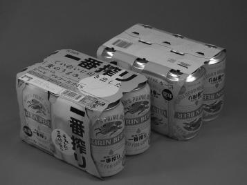 『ビール類用軽量6缶パック』