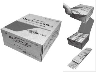 『開封しやすく解体しやすいラップアラウンド包装箱』