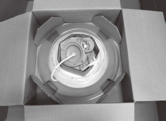 『家庭用照明器具の梱包箱』