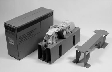『大型テープカセットの包装材』