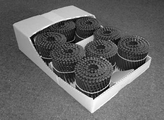 『ラウンドネイルの段ボール包装』