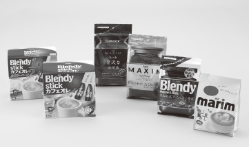 『味の素ゼネラルフーヅ/Blendy MAXIMコーヒー用包材』