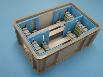 『プレート用 アーチ型スライド式 通い箱』