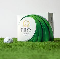 『ゴルフボール「PHYZ」』