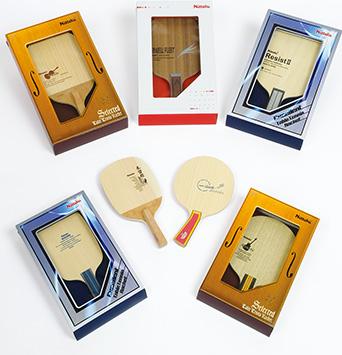 『卓球ラケット7種共用身箱・仕切一体型パッケージ』