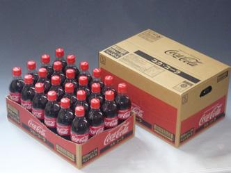 """『「コカ・コーラ500PET」開速""""ディスプレイカートン""""』"""