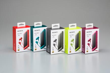 Walkman A series package (hybrid printing utilizing digital