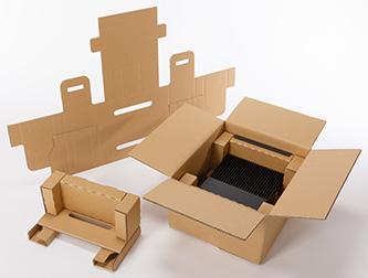 『産業PC用緩衝包装』