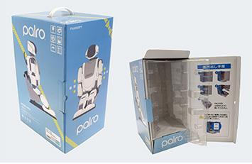 『高度な人工知能を有した「コミュニケーションロボット」の見せるパッケージ』
