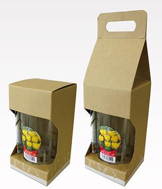『球根水耕栽培キット商品の小型化二形態式パッケージ』